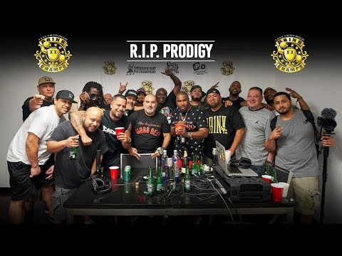 Video: Drink Champs Pay Homage To Prodigy