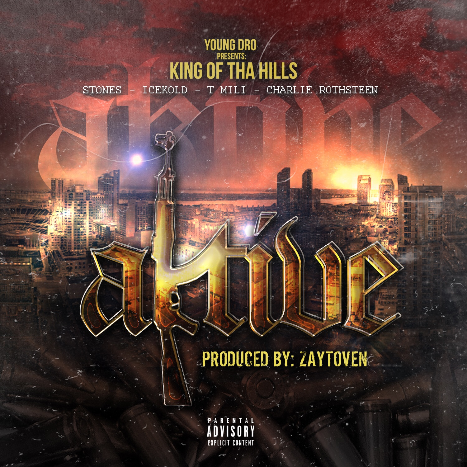 "New Music: King Of Tha Hills – ""Aktive"" [EP]"