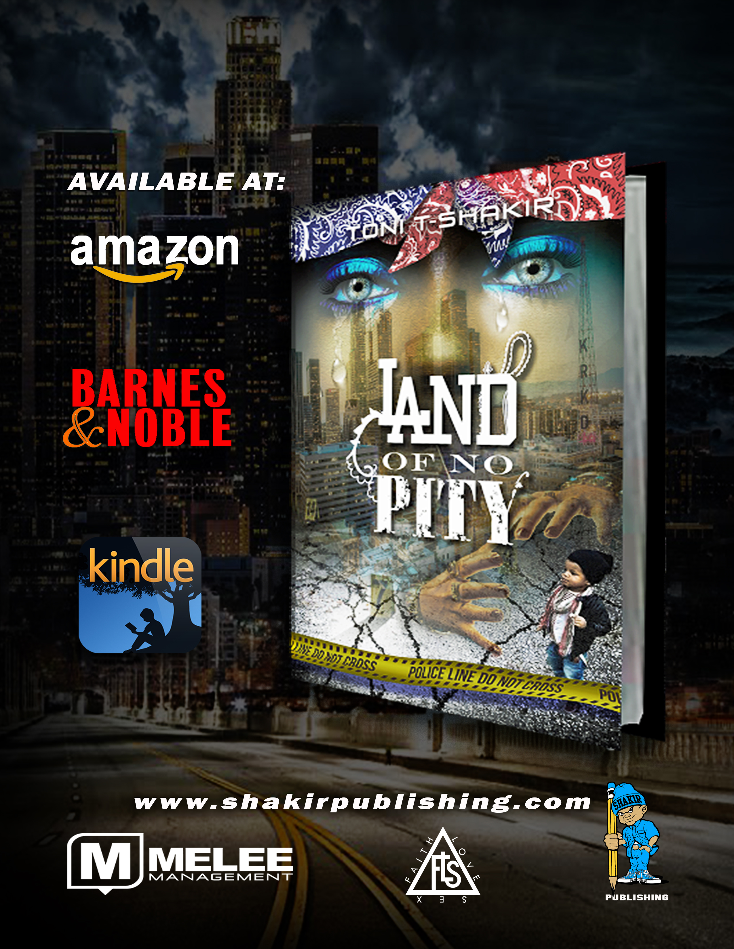 """Toni-T Shakir Delivers the Ultimate Street Tale w/ """"Land of No Pity"""" + Exclusive Q&A"""