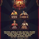 Cardi B, Kodak Black, YFN Lucci & Rich The Kid To Headline The 1st Annual 'Trap Circus Festival' In Miami