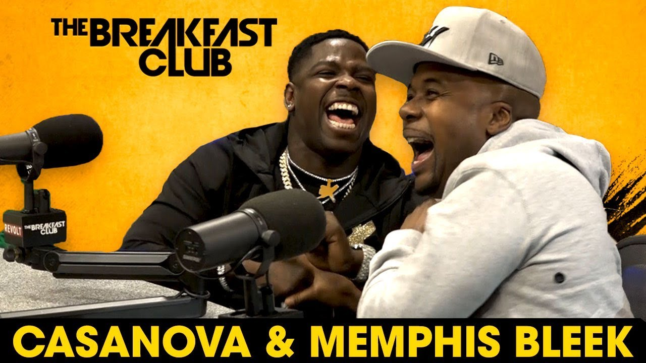 Video: Casanova & Memphis Bleek Interview With The Breakfast Club