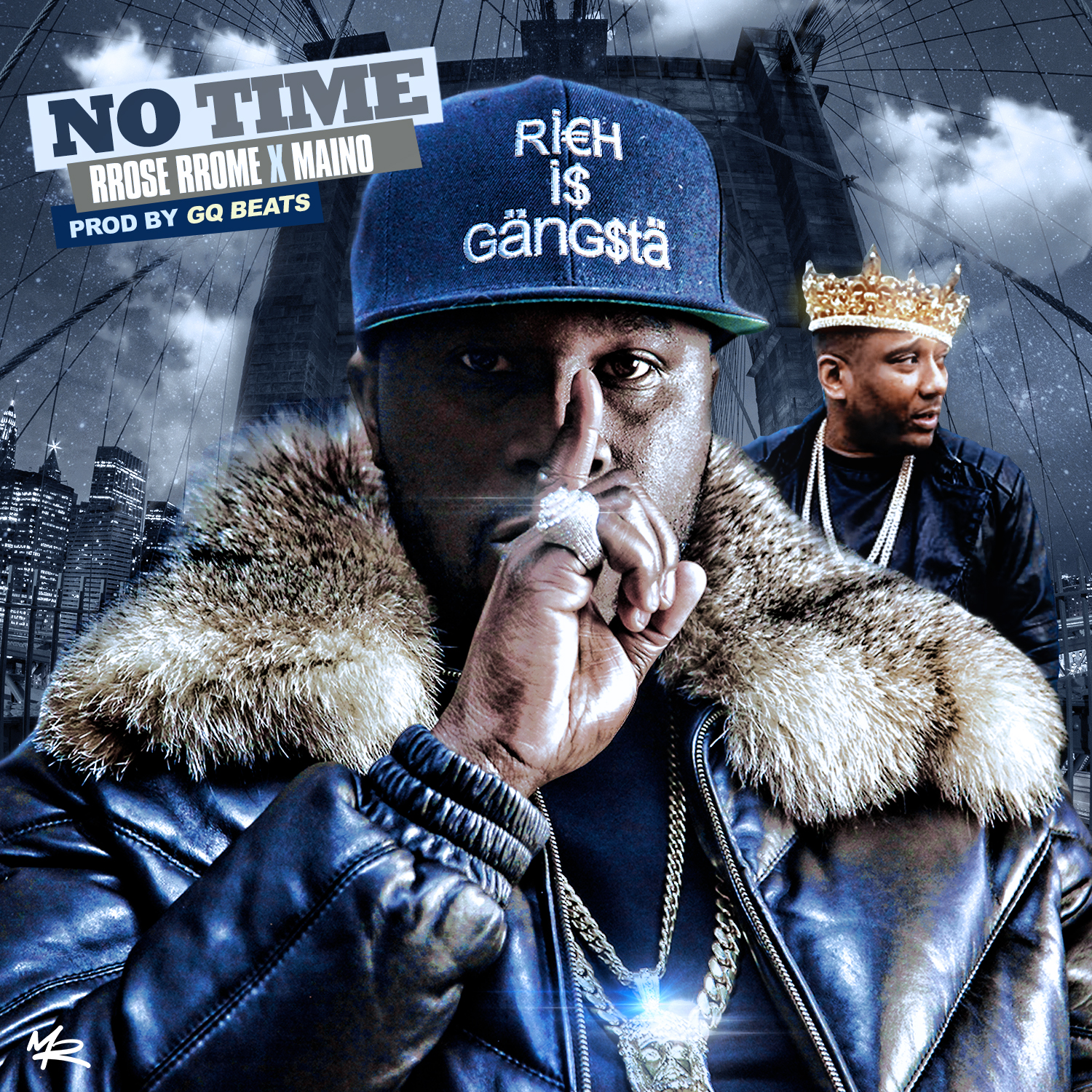 "New Music: RRose RRome – ""No Time"" (feat. Maino)"
