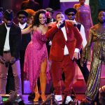 "Video: DJ Khaled, Rihanna & Bryson Tiller Perform ""Wild Thoughts"" Live At The Grammy's"