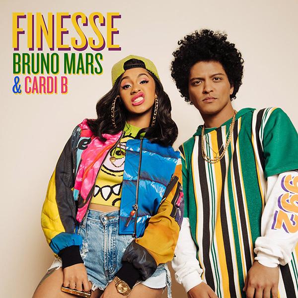 "Bruno Mars debuts Cardi B Assisted Single ""Finesse"" Remix"