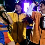 "Video: Bruno Mars & Cardi B Perform ""Finesse"" Live At The Grammy's"