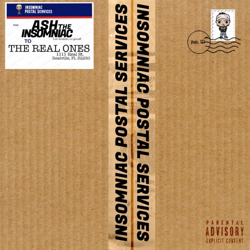 """New Music: Ash The Insomniac – """"Real Ones"""" [EP]"""