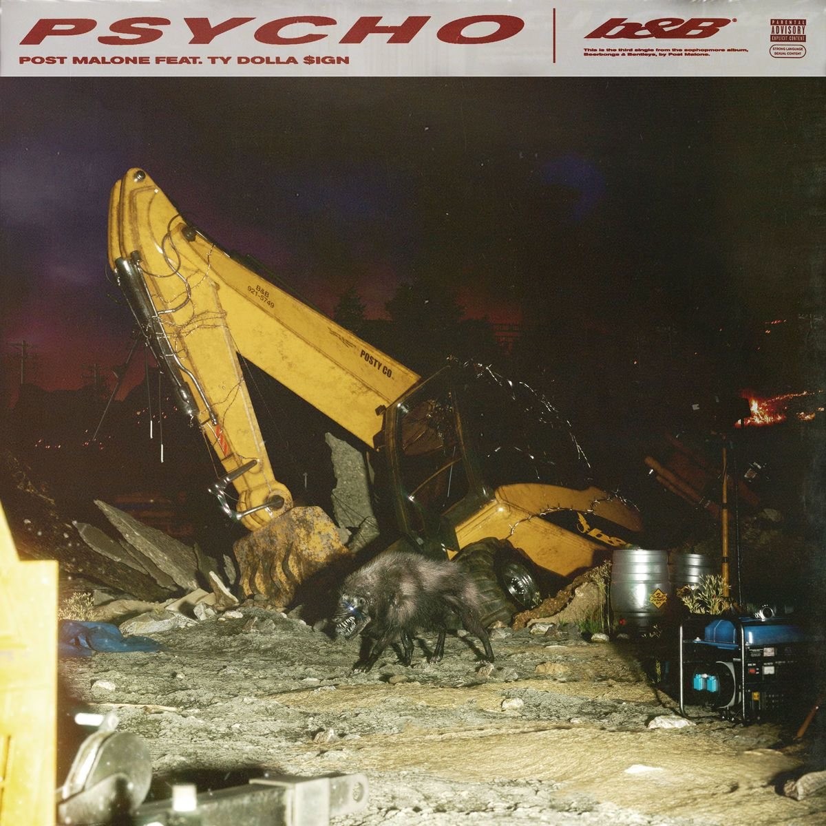 "Post Malone Song Lyrics: ""Psycho"" (feat. Ty Dolla Sign"