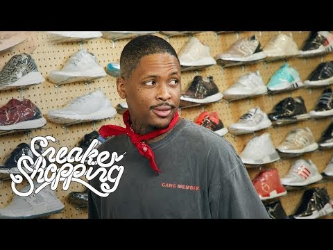 Video: YG Goes Sneaker Shopping With Complex