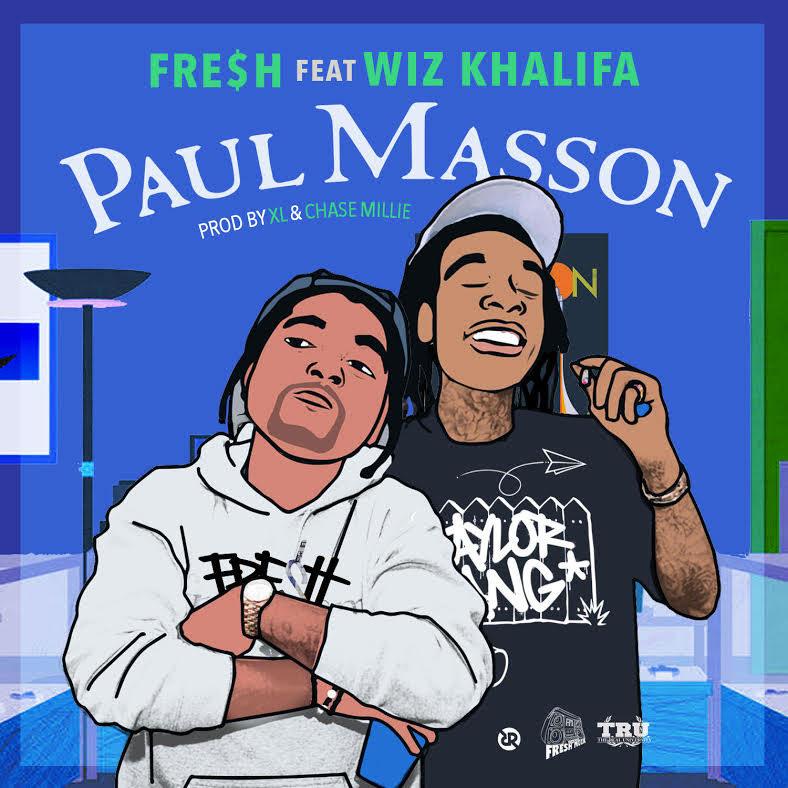 New Music: Fre$h ft. Wiz Khalifa – Paul Masson