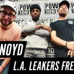 Video: ANoyd Freestyle w/ LA Leakers on 'Power 106'