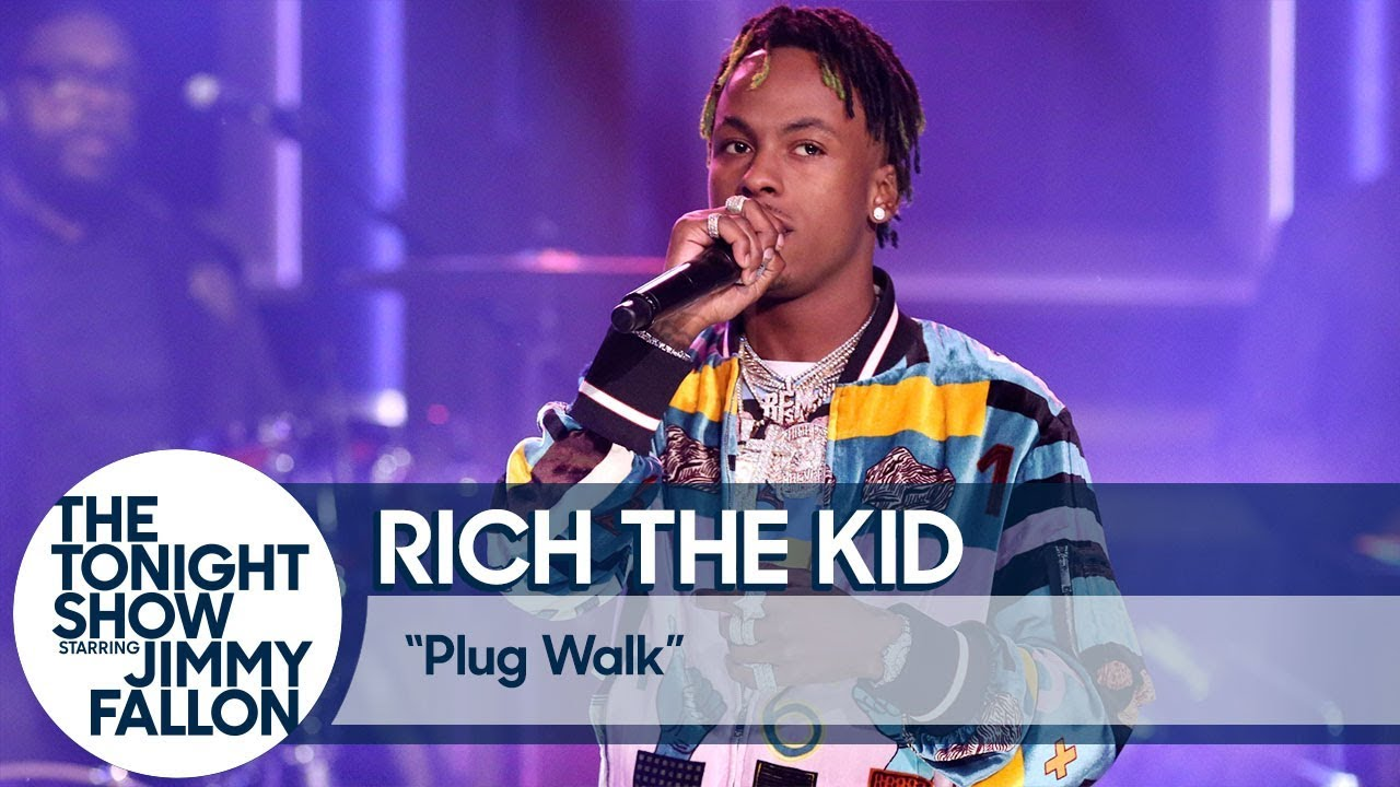 """Video: Rich The Kid Performs """"Plug Walk"""" On 'The Tonight Show'"""