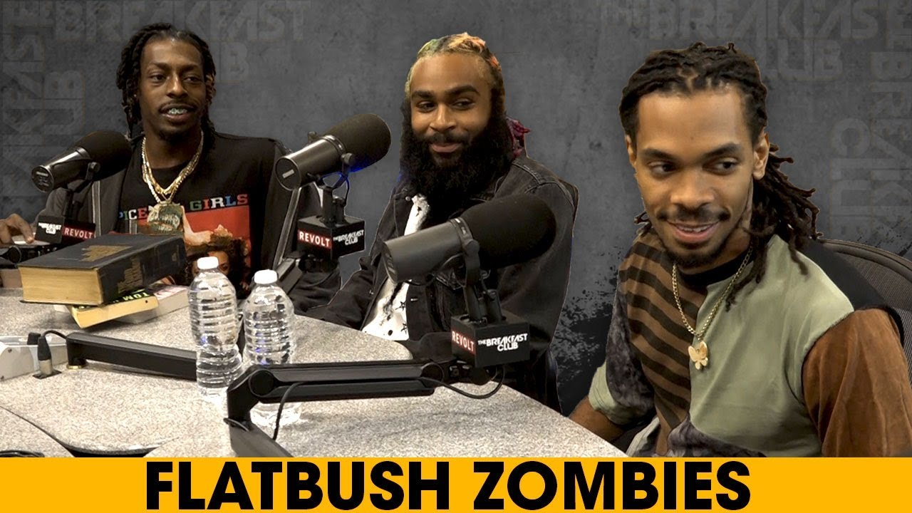 Video: Flatbush Zombies Talk Psychedelics, Music Truths, Mental Illness + More On 'The Breakfast Club'