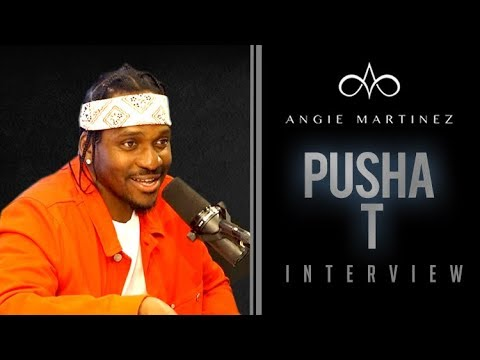 Video: Pusha T Interview w/ Angie Martinez