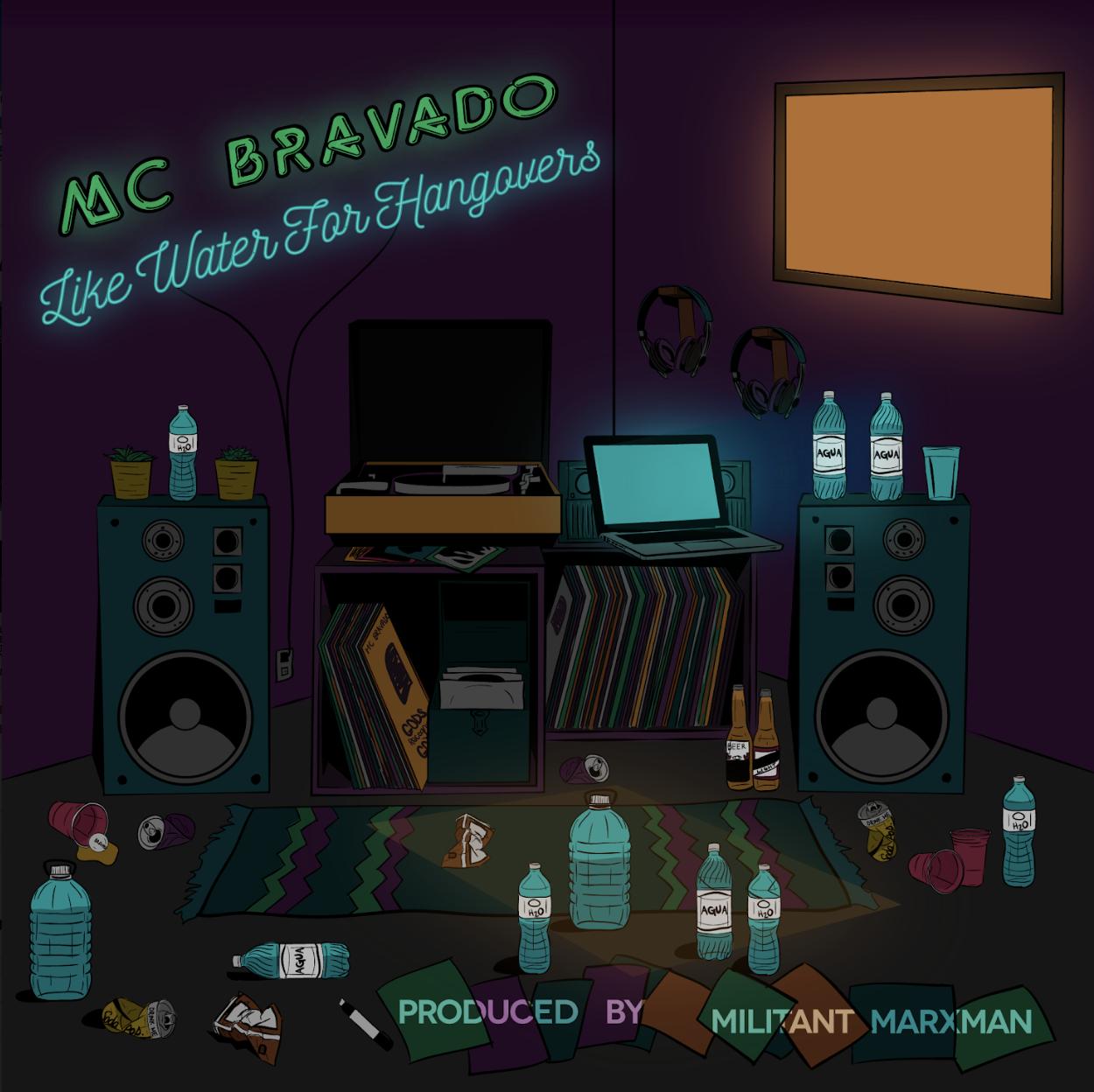 "New Album: MC Bravado – ""Like Water For Hangovers"""