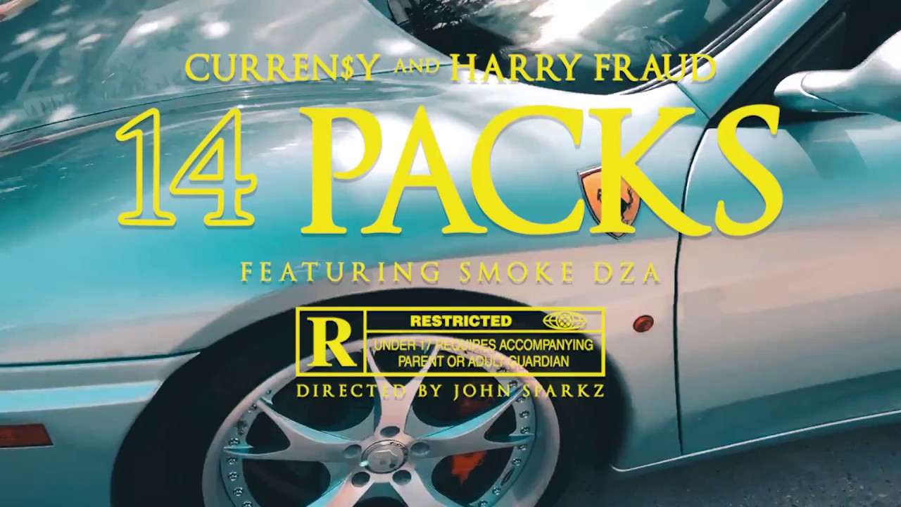 "New Video: Curren$y & Harry Fraud – ""14 Packs"" (feat. Smoke DZA)"