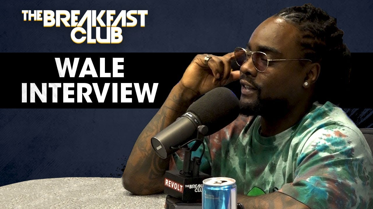 Video: Wale Returns To 'The Breakfast Club'