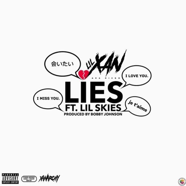 """New Music: Lil Xan – """"Lies"""" (feat. Lil Skies)"""