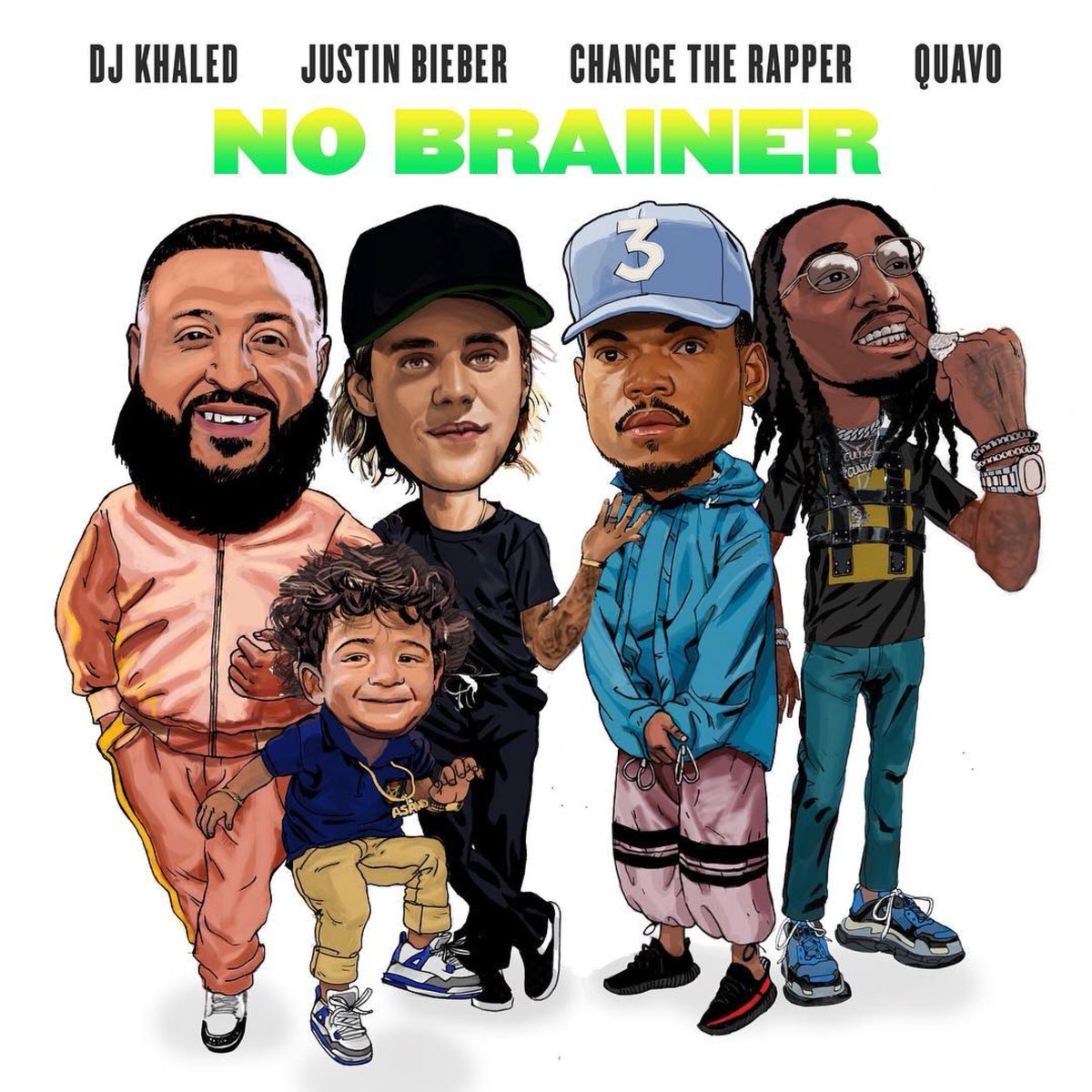 "New Music/Video: DJ Khaled – ""No Brainer"" (feat. Chance The Rapper, Quavo & Justin Bieber)"