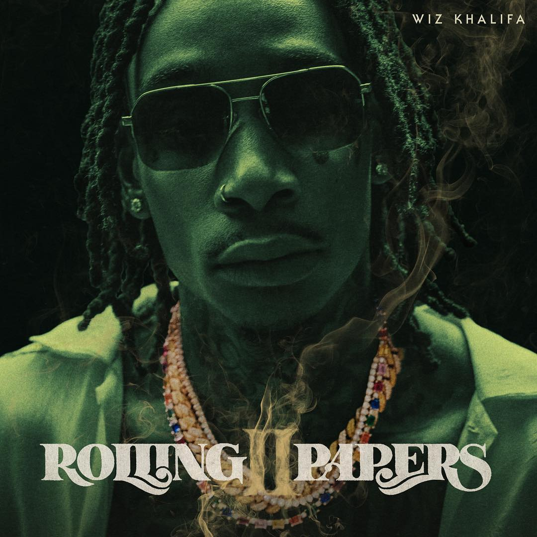 "Wiz Khalifa Reveals ""Rolling Papers 2"" Artwork"