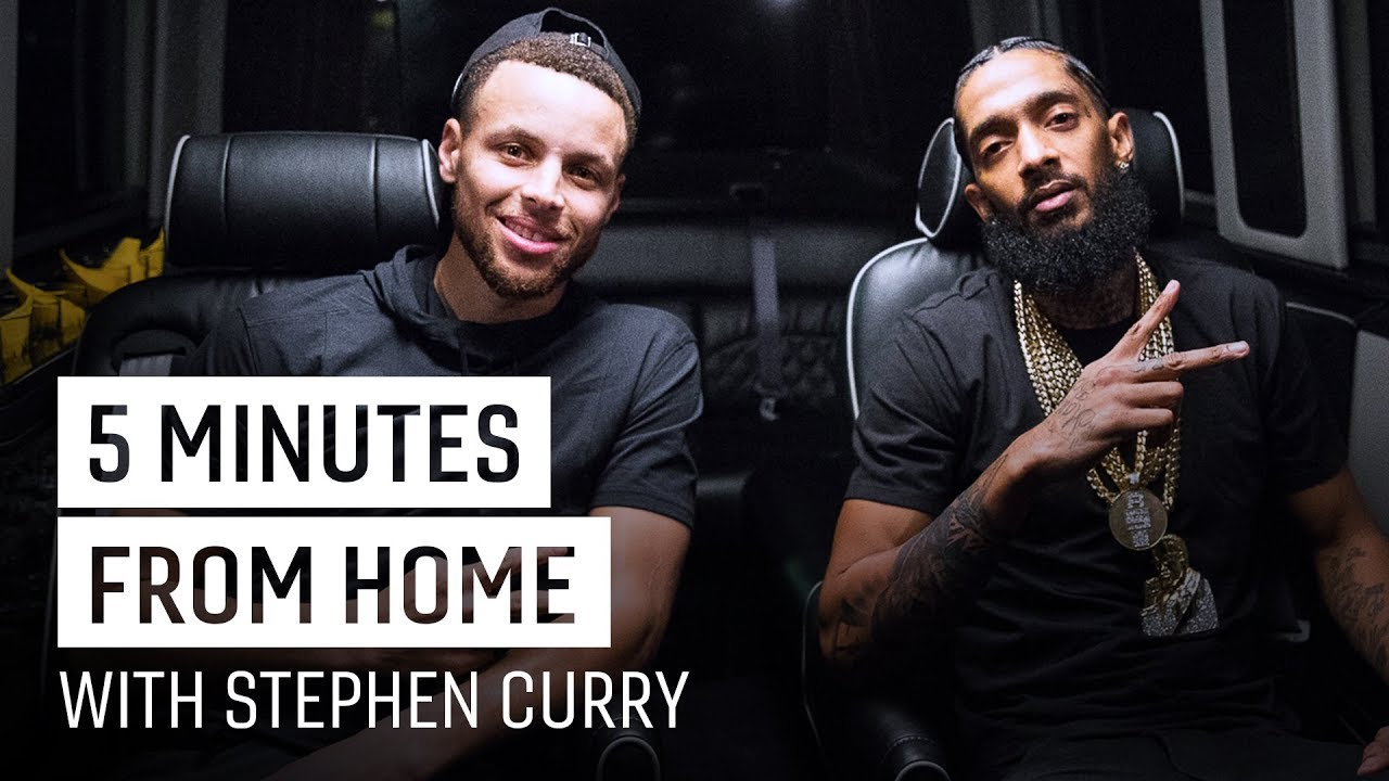 Video: Nipsey Hussle & Stephen Curry Debate Hip-Hop, Sports + More   5 Minutes from Home