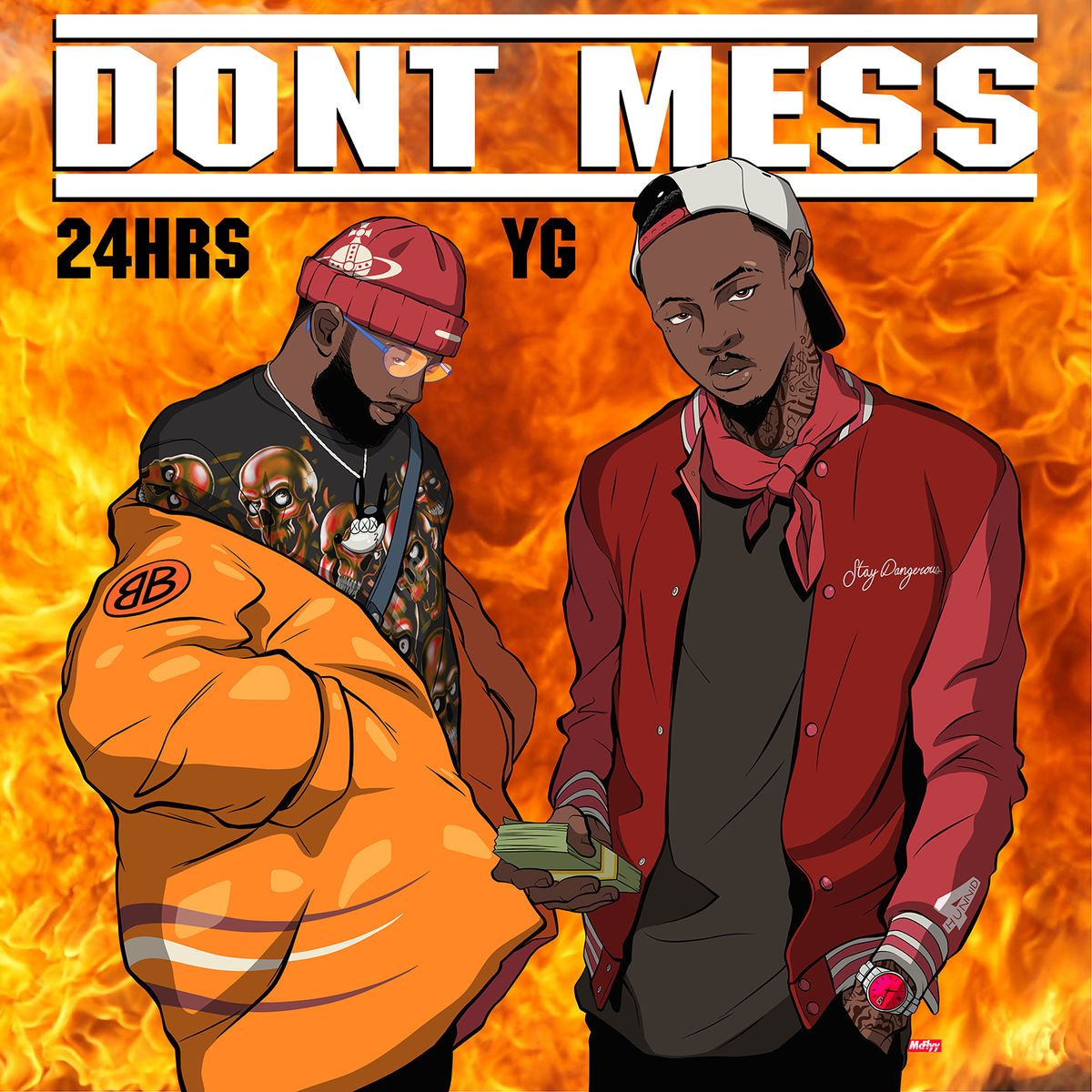 "New Music: 24hrs – ""Don't Mess""(feat. YG"""