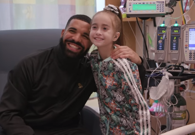 Video: Drake Visits Young Fan In The Hospital Before Their Heart Transplant