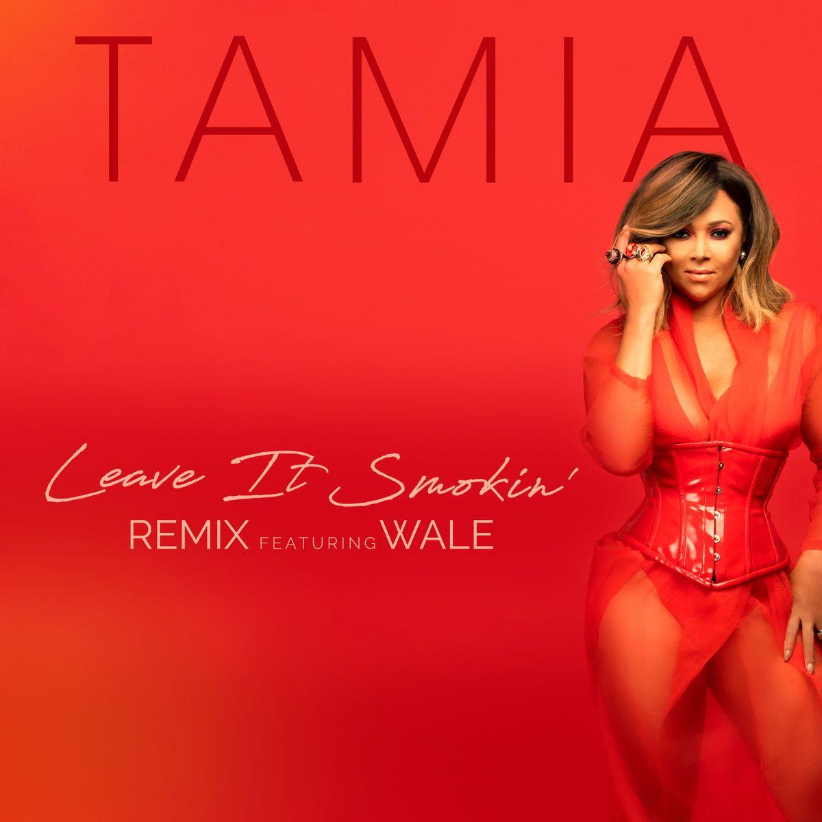 "New Music: Tamia x Wale – ""Leave It Smokin' (Remix)"""