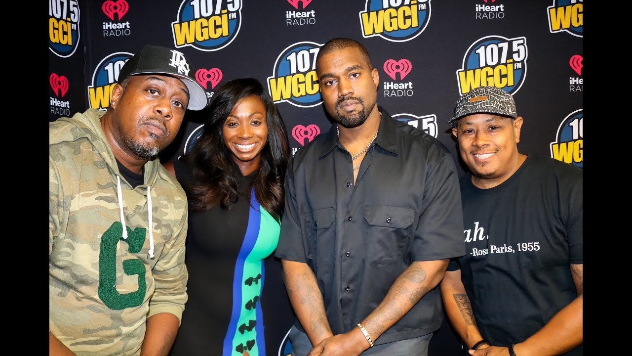 Video: Kanye West Talks Drake, Trump + More On '107.5 WGCI'