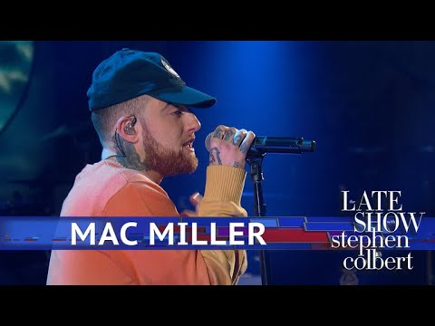 """Video: Mac Miller Performs """"Ladders"""" Live On 'The Late Show'"""