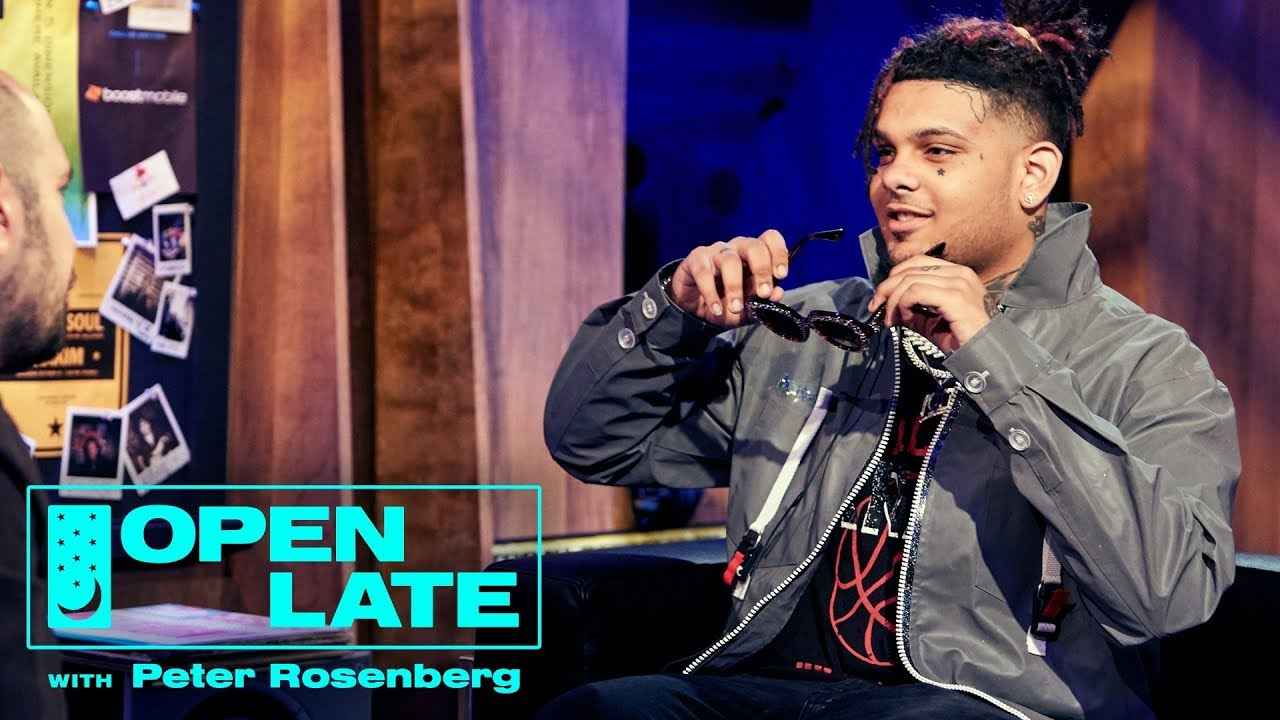 Video: Smokepurpp Talks Name Change, EP w/ Travis Barker + More w/ Peter Rosenberg