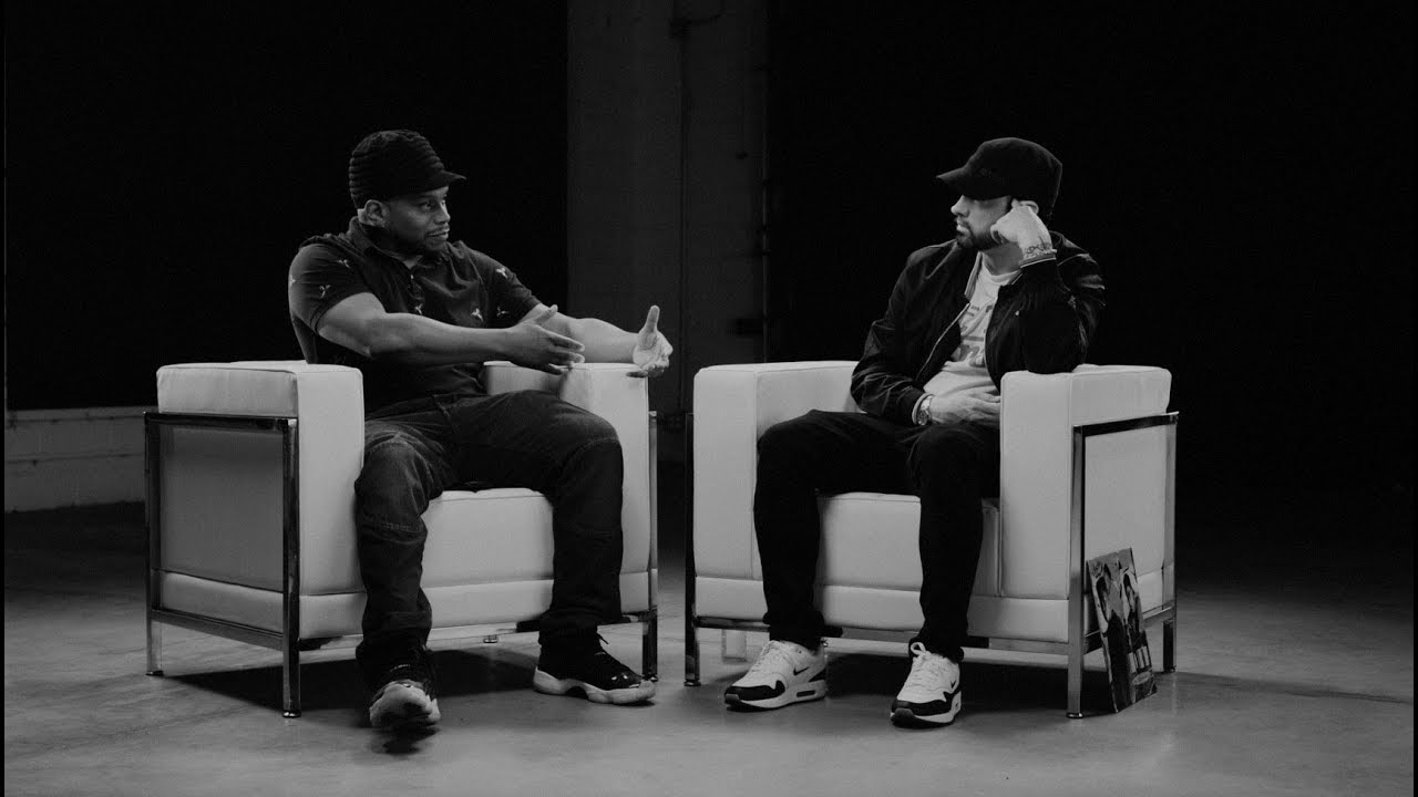 Video: Eminem & Sway – 'The Kamikaze Interview' [Part 1]