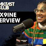 6ix9ine Returns To 'The Breakfast Club' (VIDEO)