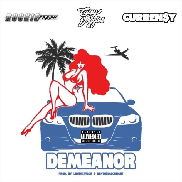 "New Music: Casey Veggies & Rockie Fresh – ""Demeanor"" (feat. Currensy)"