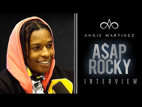 Video: A$AP Rocky Interview w/ Angie Martinez