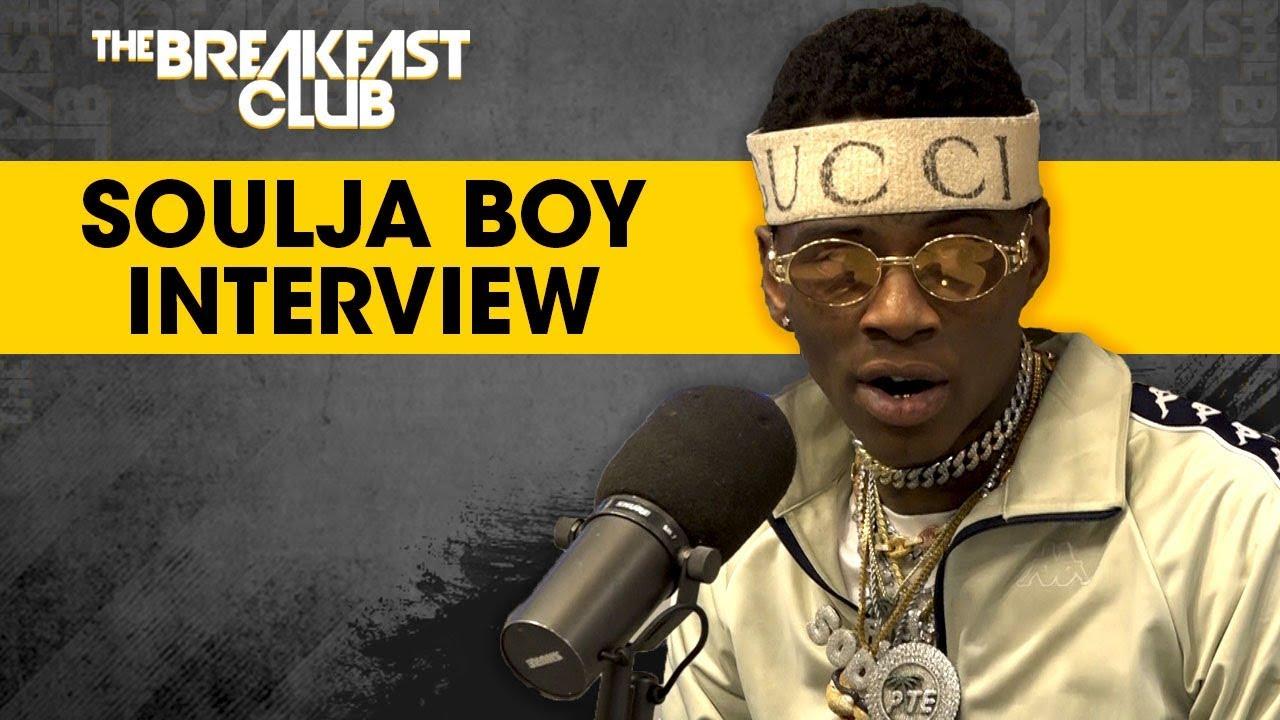 Video: Soulja Boy Interview On 'The Breakfast Club'