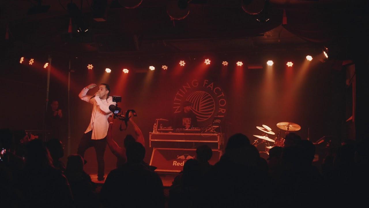 Video: UFO Fev Performs 'B.I.B.L.E.' Live @ The Knitting Factory [1/9/19]