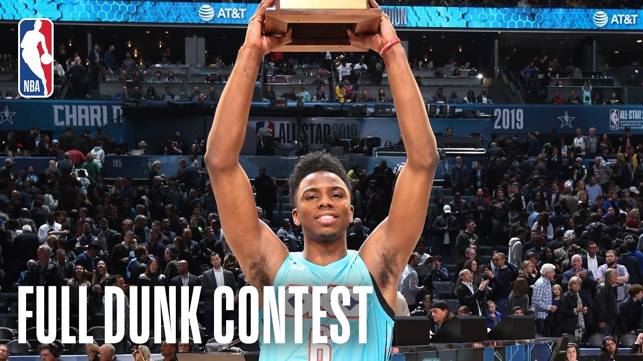 2019 NBA All-Star Slam Dunk Contest (VIDEO)
