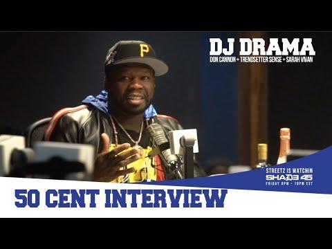 50 Cent Talks BMF Series, 6ix9ine Snitching + More w/ DJ Drama (VIDEO)