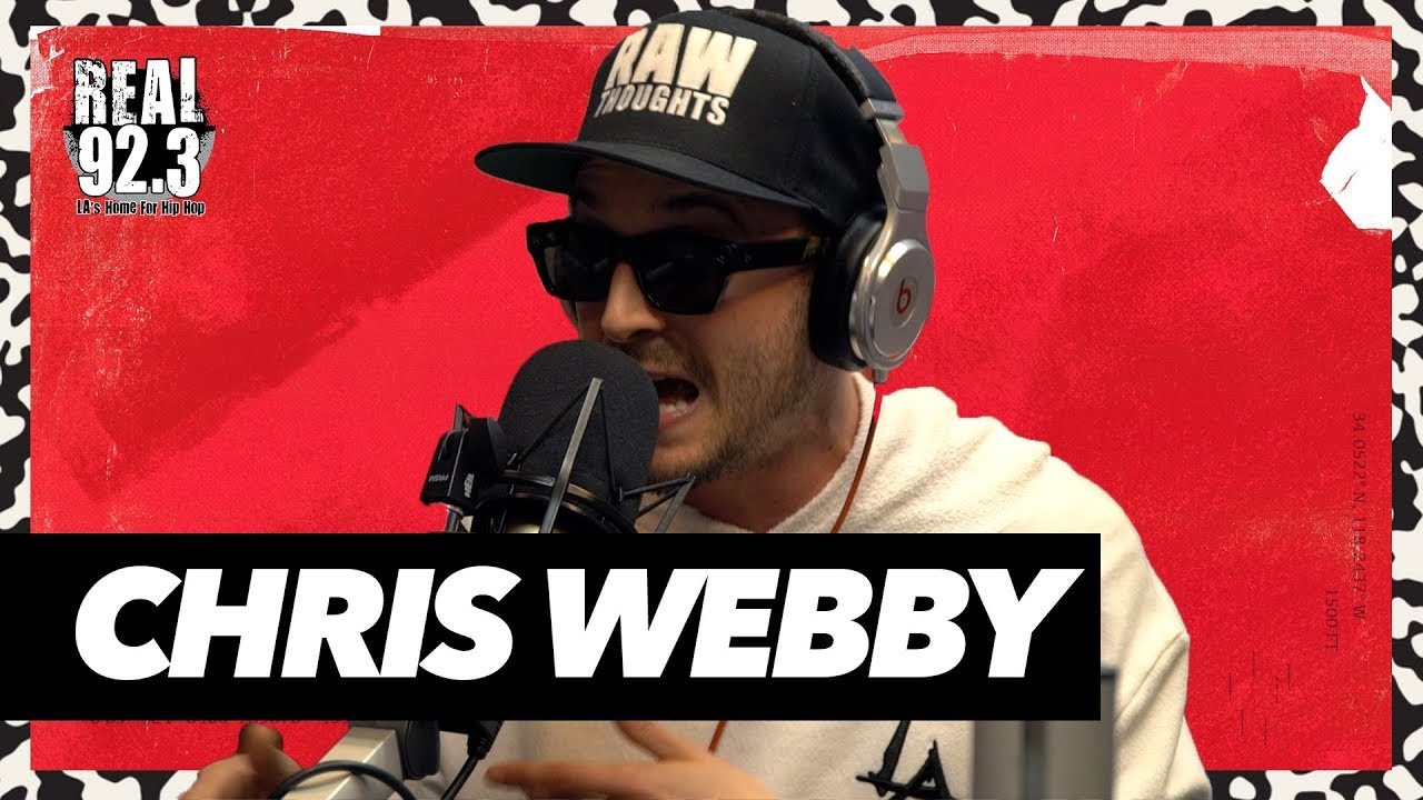 Chris Webby Freestyles Over Classic Dr. Dre Beat | Real 92.3 (VIDEO)
