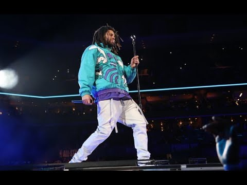 J. Cole's 2019 NBA All-Star Game Halftime Performance (VIDEO)