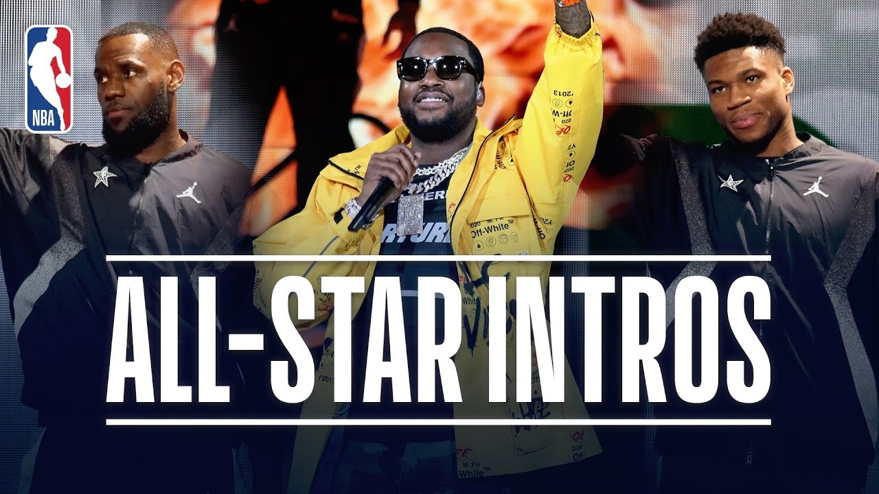 Meek Mill Headlines 2019 NBA All-Star Game Introductions (VIDEO)