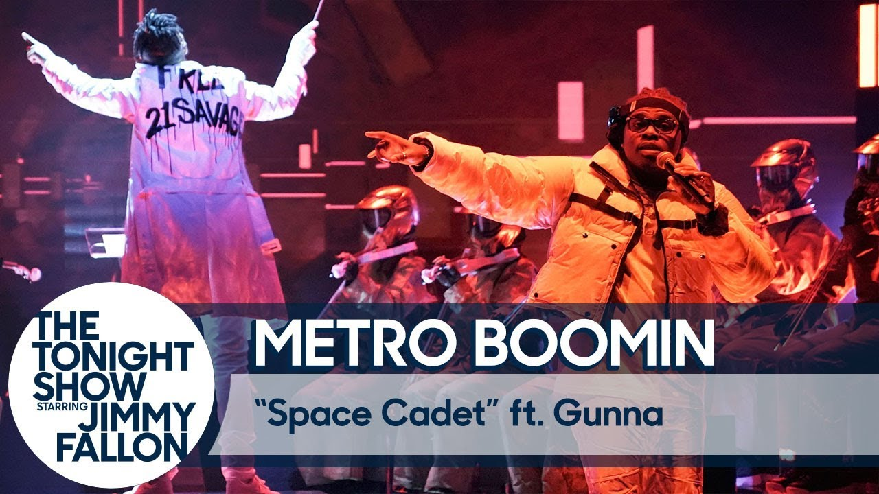 """Metro Boomin & Gunna Perform """"Space Cadet"""" Live On 'The Tonight Show' (VIDEO)"""