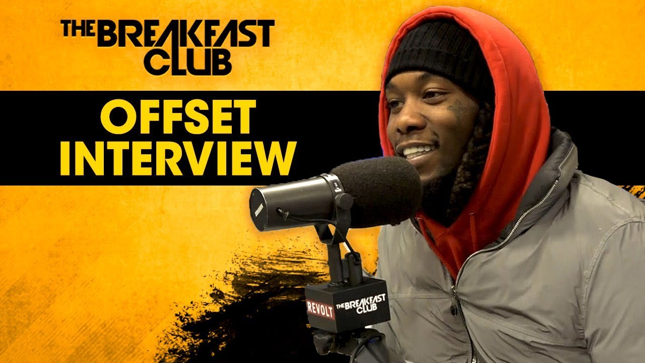 Offset Talks New Album, Maturity, Cardi B + More On 'The Breakfast Club' (VIDEO)