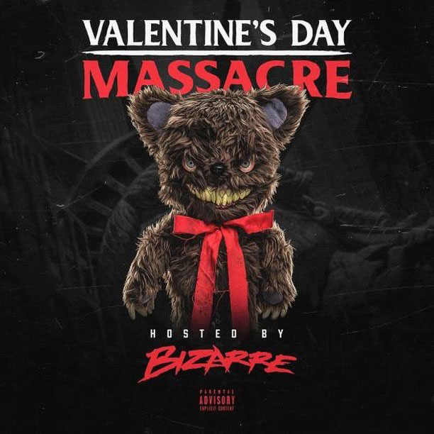 "New Mixtape: Bizarre – ""Valentine's Day Massacre"""