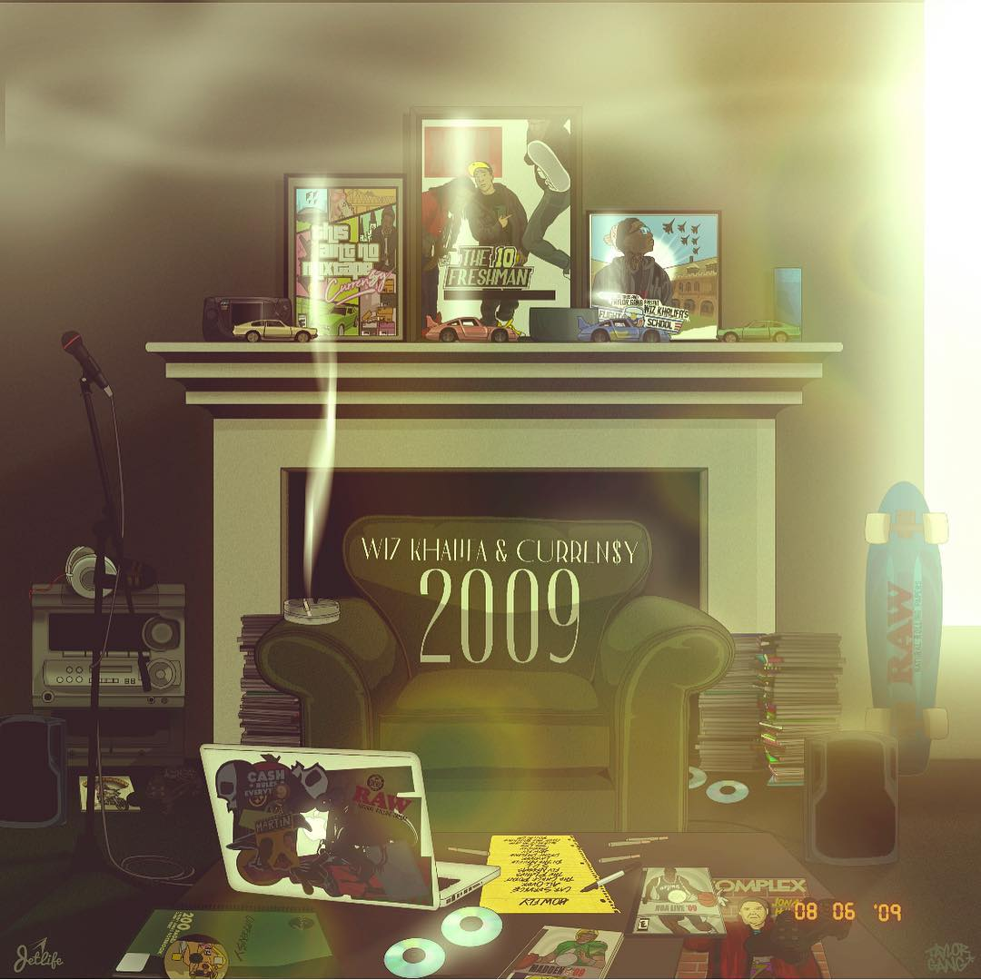 "New Album: Wiz Khalifa & Curren$y – ""2009"""