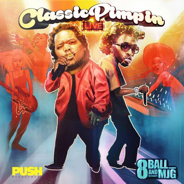 "New Album: 8Ball & MJG – ""Classic Pimpin Live"""