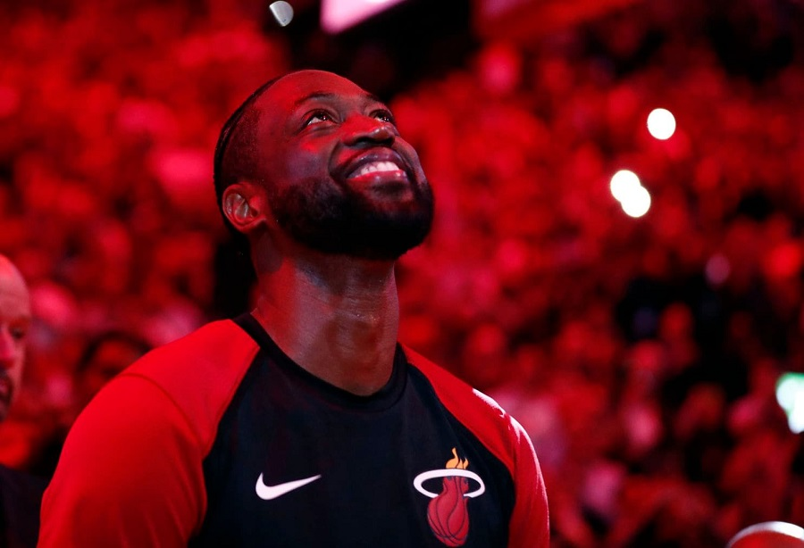 Dwyane Wade Records A Triple Double In His Last Official NBA Game (Vs. Nets)