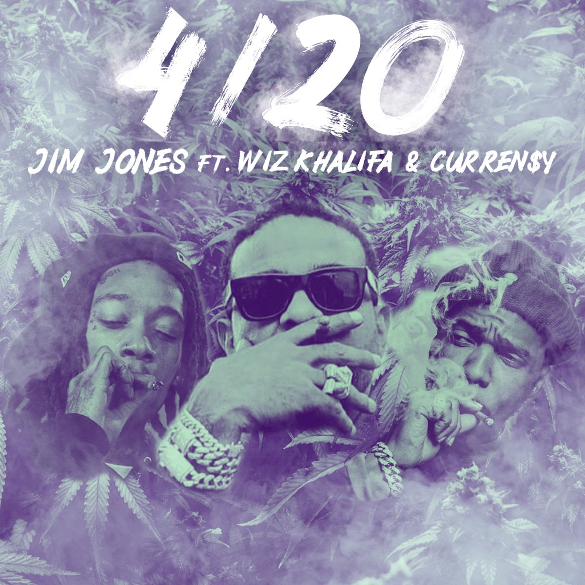 "New Music: Jim Jones – ""4/20"" (feat. Wiz Khalifa & Curren$y)"