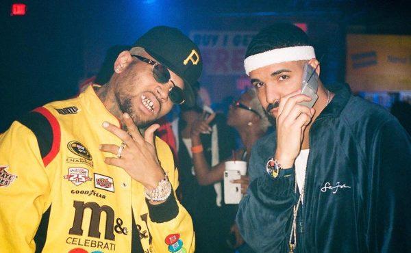 Chris Brown Previews Upcoming Drake Collab