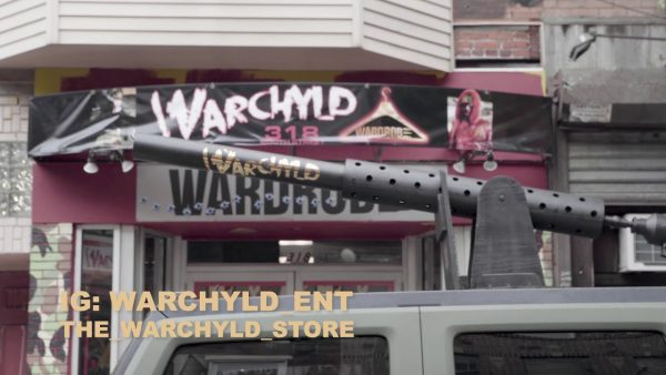 Warchyld Shows Of 'War Hummer' On The City's South Street (VIDEO)